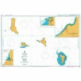 563 Comores Admiralty Chart