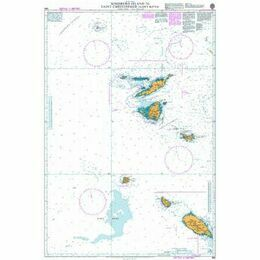 583 Sombrero Island to Saint Christopher Admiralty Chart