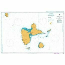 593 Approaches to Guadeloupe Admiralty Chart