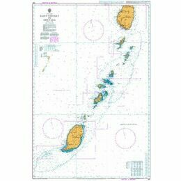 597 Saint Vincent to Grenada Admiralty Chart