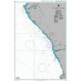 604 Cap Lopez to Luanda Admiralty Chart