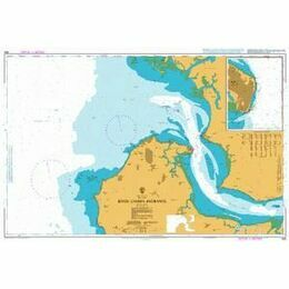 608 River Gambia Entrance Admiralty Chart
