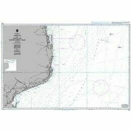 648 Maputo to Porto de Bartolomeu Dias Admiralty Chart