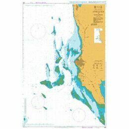 665 Approaches to Zanzibar Admiralty Chart