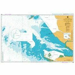 685 Banana Islands to Turtle Islands Admiralty Chart