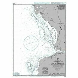692 Rade de Tulear and Baie de St Augustin Admiralty Chart