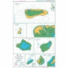 718 Islands North of Madagascar Admiralty Chart