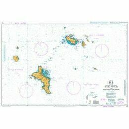 742 Mahe - Praslin and Adjacent Islands Admiralty Chart