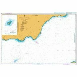 774 Motril to Cartagena including Isla de Alboran Admiralty Chart