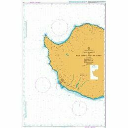 775 Cape Arnauti to Cape Limniti and Cape Aspro Admiralty Chart