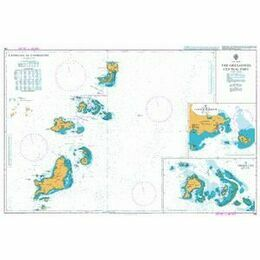 794 The Grenadines Central Part Admiralty Chart