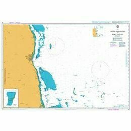 82 Outer Approaches to Port Sudan Admiralty Chart