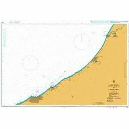 856 Oued Sebou to Casablanca Admiralty Chart