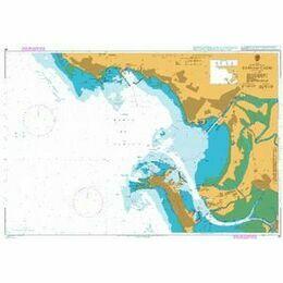 86 Bahia de Cadiz Admiralty Chart