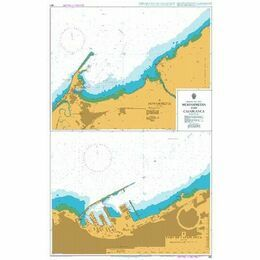 861 Mohammedia and Casablanca Admiralty Chart