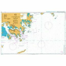 937 Eastern Approaches to Hong Kong Admiralty Chart