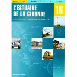 Imray Editions Du Breil No. 16 L'Estuaire De La Gironde Waterway Guide
