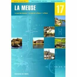 Imray Editions Du Breil No. 17 La Meuse Waterway Guide