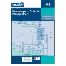 Imray Chart A4 Guadeloupe to St. Lucia