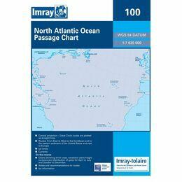 Imray 100 North Atlantic Passage Chart