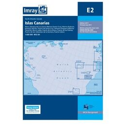 Imray Chart E2 Islas Canarias