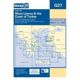 Imray Chart G27 Nisos Lesvos & the Coast of Turkey