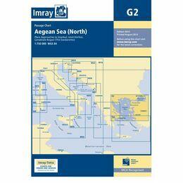 Imray G2 Aegean Sea North Part Passage Chart