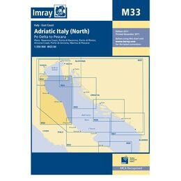 Imray Chart M33 Adriatic Italy (North)