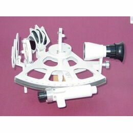 Freiberger Drum Sextant (Allview Mirror) in wooden box