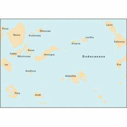Imray Chart G34 Southern Cyclades (Sheet 2- East)