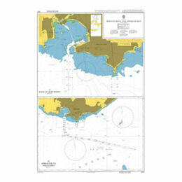 2001 Montevideo and Approaches Admiralty Chart