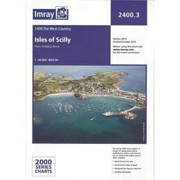 Imray Chart 2400.3 Isles of Scilly
