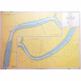 2977 Rio Guadalquivir Cano de Enriquez to Cano de San Carlos Admiralty Chart