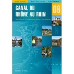 Imray Editions Du Breil No. 9 Canal du Rhone au Rhin Waterway Guide