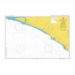 1363 Cape Saint Ann to Monrovia Admiralty Chart