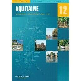 Imray Editions Du Breil No. 12 Aquitaine Waterway Guide
