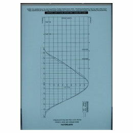 Falmouth / Dartmouth Tidal Curve Sheet Laminated