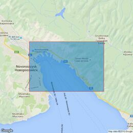 3318 Black Sea --- Russia, Novorossiysk Inner Harbour Admiralty Chart