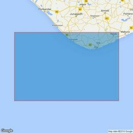 1474 Savai Bet to Veraval Admiralty Chart