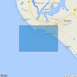 1566 Cape Comorin to Cochin Admiralty Chart