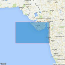 2736 Bombay to Dwarka Admiralty Chart