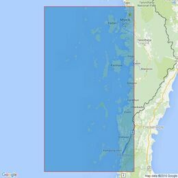 216 Mergui Archipelago Admiralty Chart