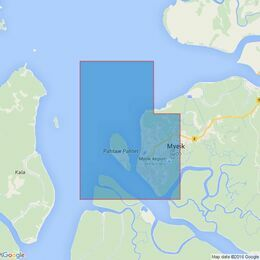 218 Mergui Harbour Admiralty Chart