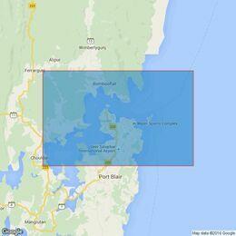 514 Port Blair Admiralty Chart