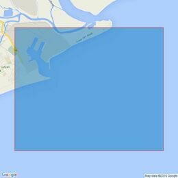 538 Approaches to Paradip Admiralty Chart