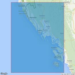 817 Elephant Point to Mun Aung Island Admiralty Chart