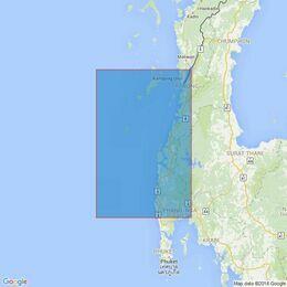 3052 Za Det Gyi Island to Mu Ko Similan Admiralty Chart
