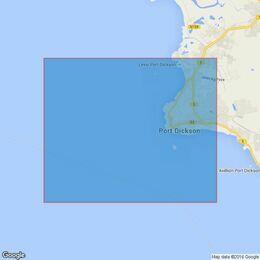 1140 Tanjong Sepat to Port Dickson Admiralty Chart