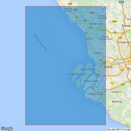 2139 Approaches to Pelabuhan Klang Admiralty Chart