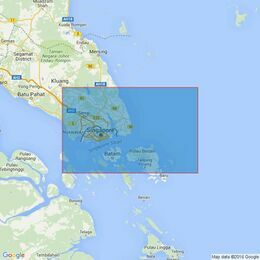 2403 Singapore Strait and Eastern Approaches Admiralty Chart